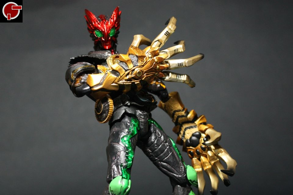 Firestarter's Blog: Toy Review: S.I.C. Kamen Rider OOO ...