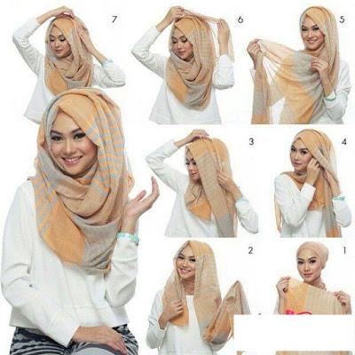 Cara Memakai Hijab Style