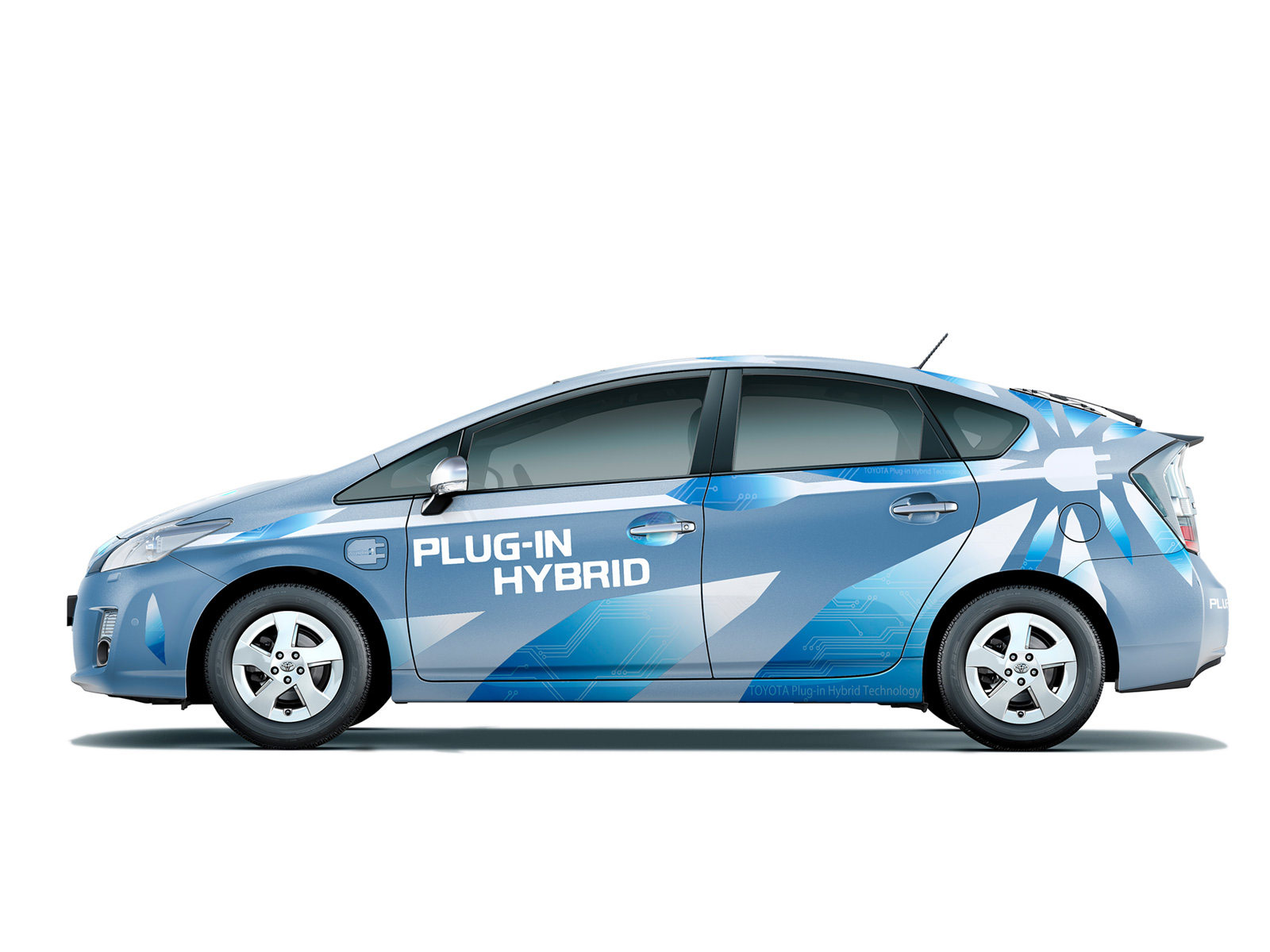 2009 toyota prius plug in hybrid concept wallpaper. Black Bedroom Furniture Sets. Home Design Ideas