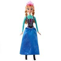 Boneca Princesa Anna Brilhante Disney Frozen da Mattel