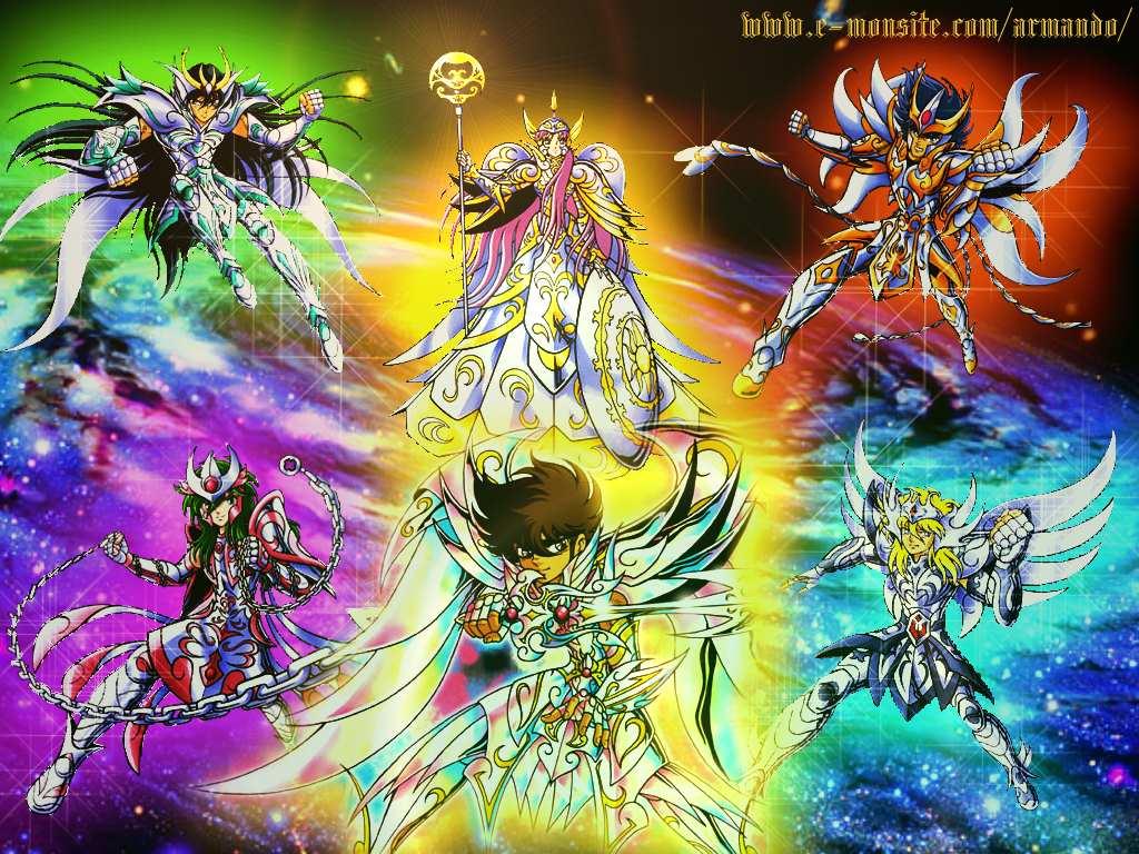 dioses de los caballeros del zodiaco