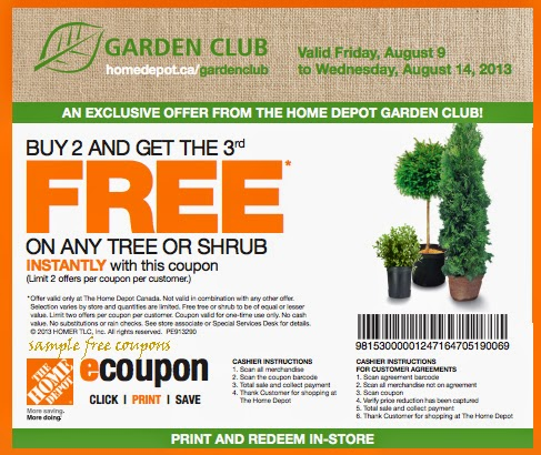 Home depot coupons in store printable