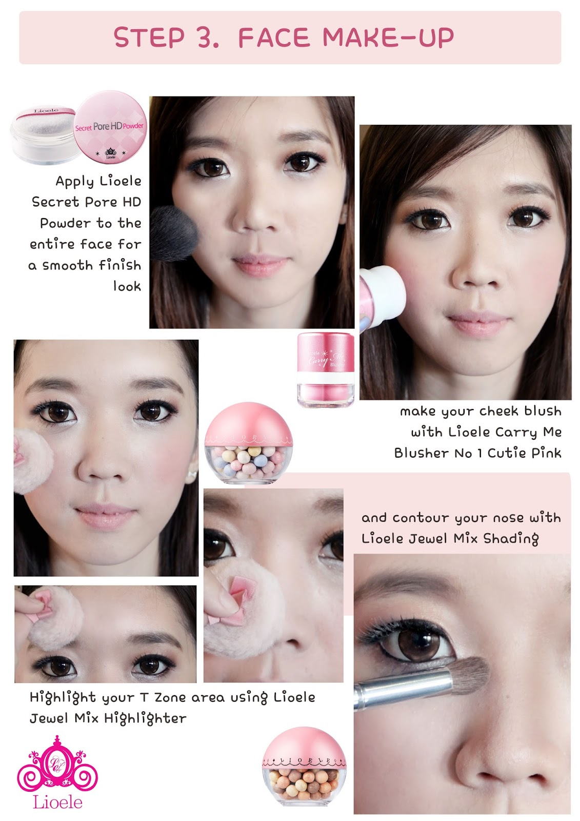 TUTORIAL : Coffee Shop Girl Makeup by LIOELE Official Indonesia | ' ms ...