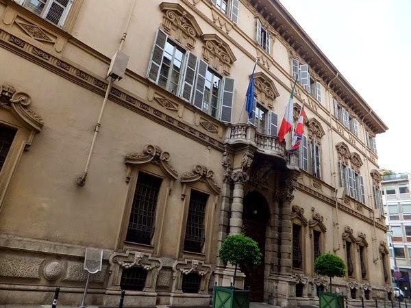 Turin Italie Via Garibaldi balade palazzo lascaris di ventimiglia
