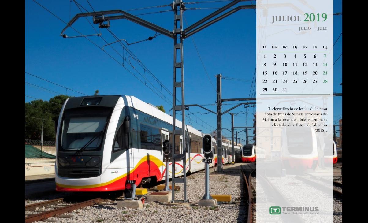 Calendari - Juliol del 2019