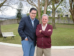 Com o escritor Flavio José Cardozo