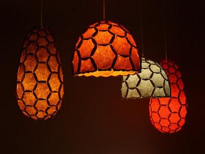 Hiasan dinding Rumah Minimalis lampu gantung