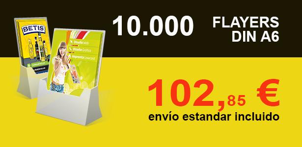 10.000 FLAYERS DIN A6 OFERTA EXCLUSIVA KALCOS