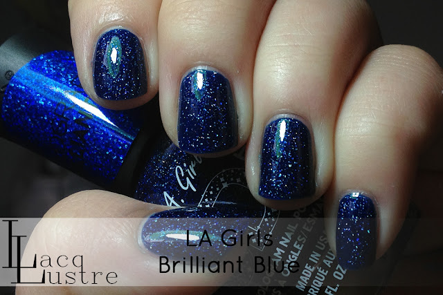 LA Girls Brilliant Blue swatch
