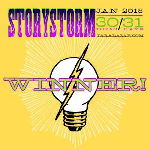 2018 StoryStorm Winner