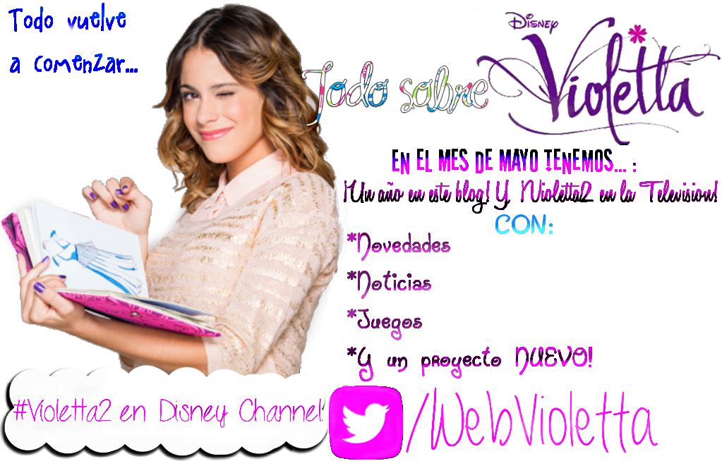 Todo sobre Violetta-Disney