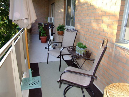Ideas For A Small Apartment Balcony