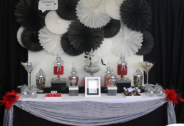Dark and Delightful Black and White Candy Buffet Wedding Forums