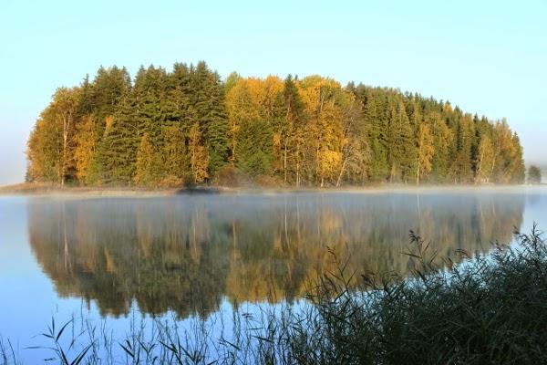 island finland syksy autumn