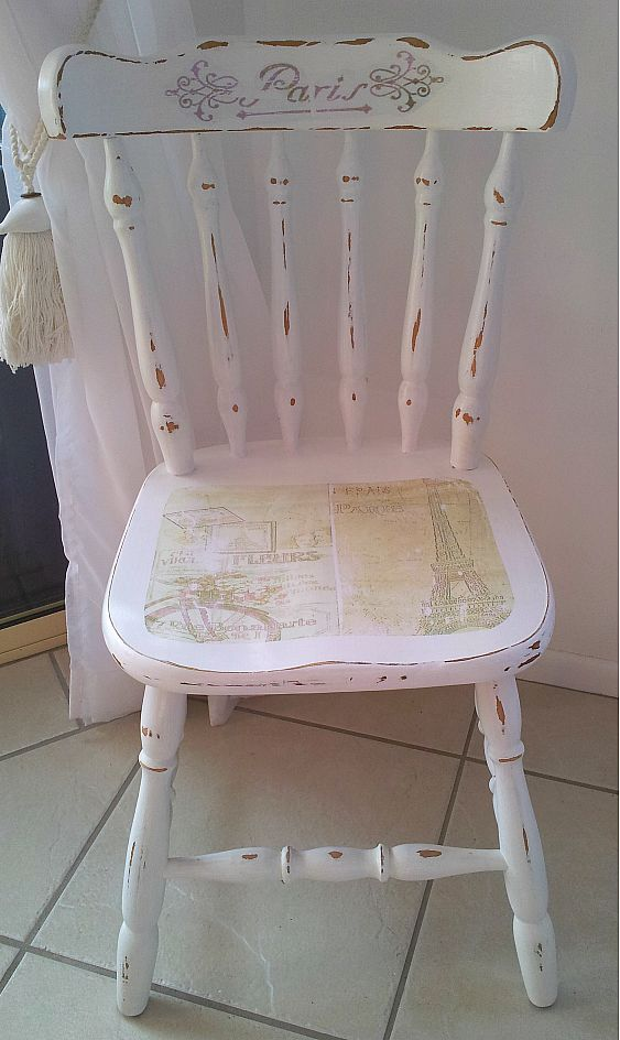 French a la beach french shabby chic bedroom chair