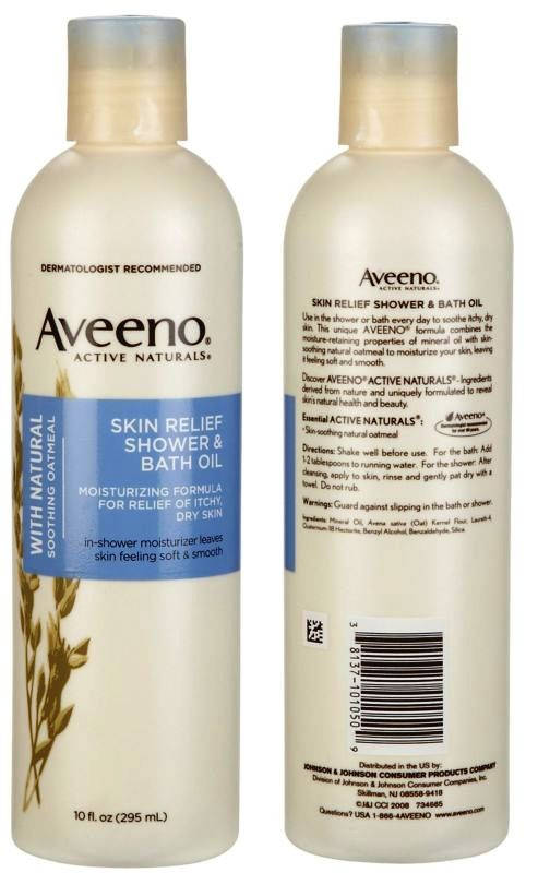 My Skin Was Really Dry And Itching From Mosquito Bites I Looking For A Solution When Saw The Aveeno Shower Bath Oil
