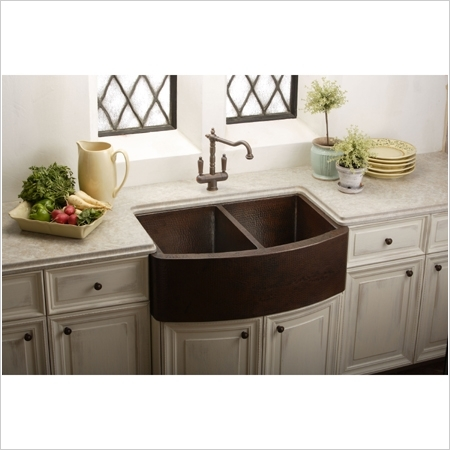 ... Apron/Farmhouse-style sinks are not good as roll-under sinks