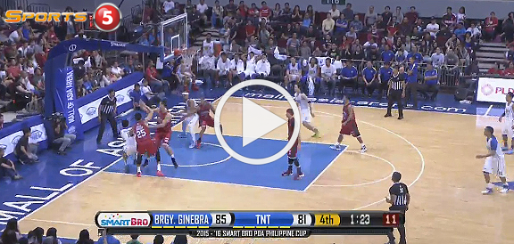 Ginebra def. Talk 'N Text, 91-84 (REPLAY VIDEO) December 20