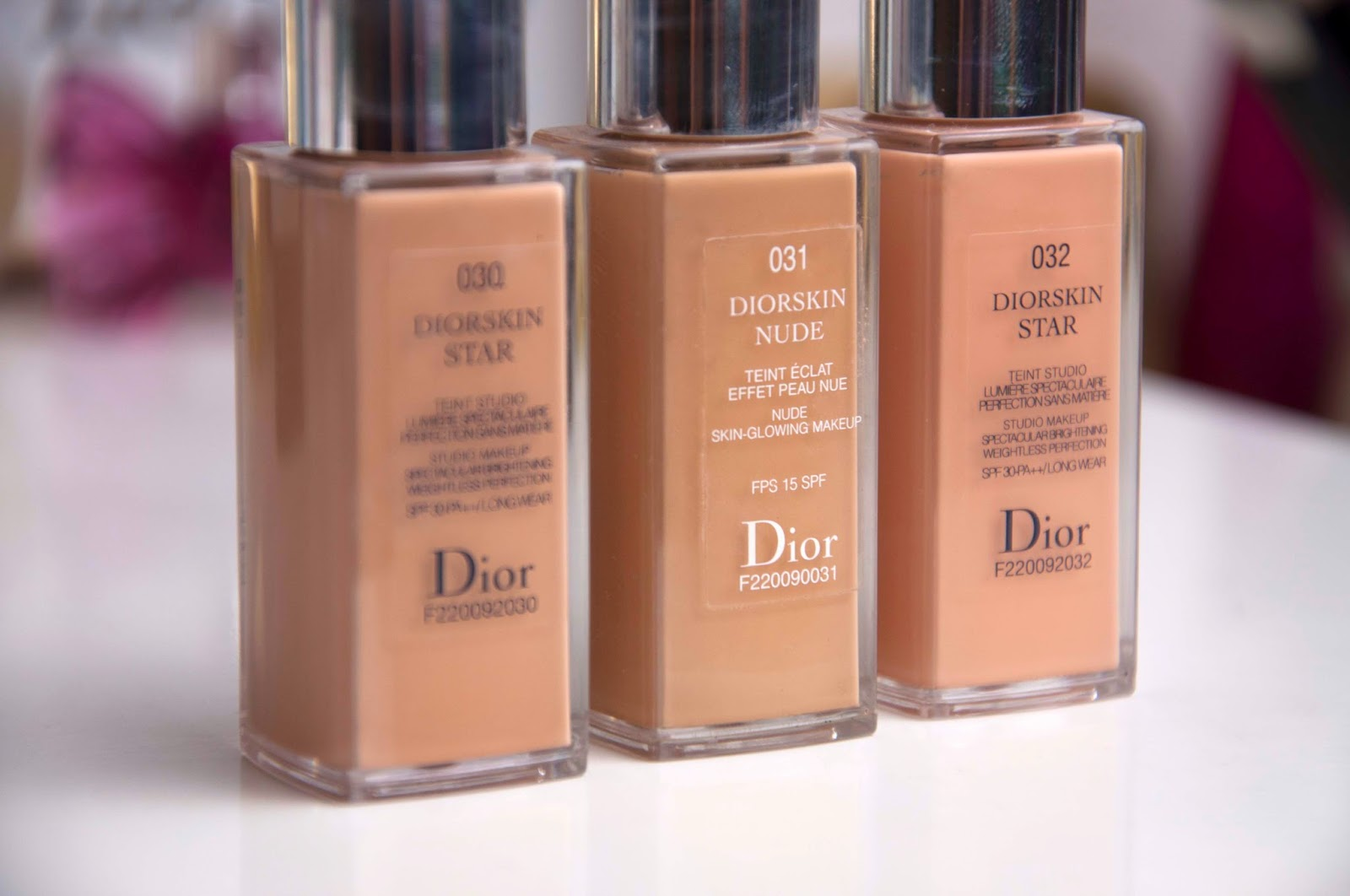 Diorskin Nude Foundation