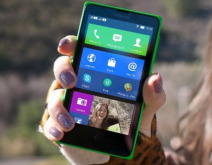 Nokia X, Smartphone Nokia Android jelly Bean