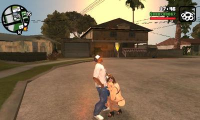 Escenas de sexo en Grand Theft Auto: San Andreas