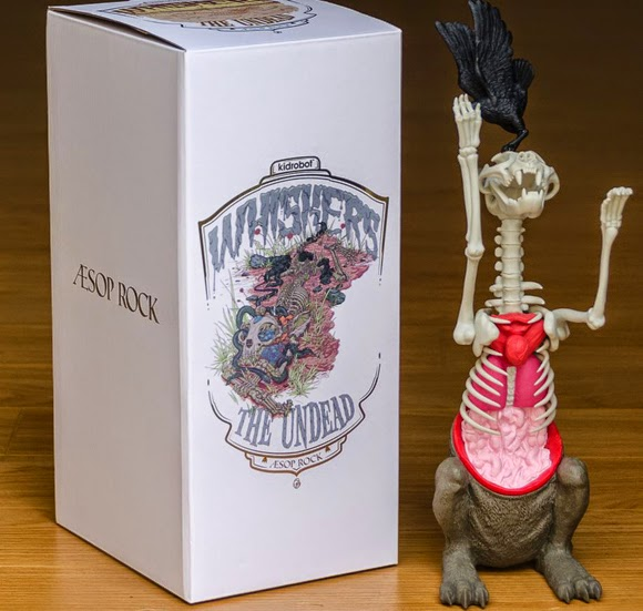 Whiskers the Undead Vinyl Figure by Aesop Rock & Kidrobot