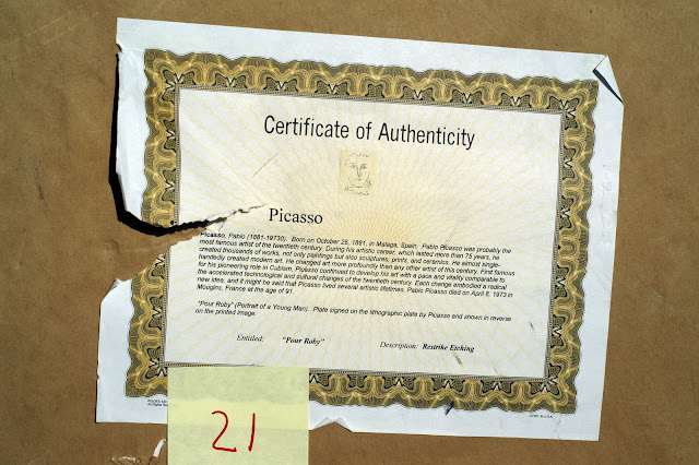 limited edition print certificate of authenticity template - lapd art cop and his example of a fake certificate of
