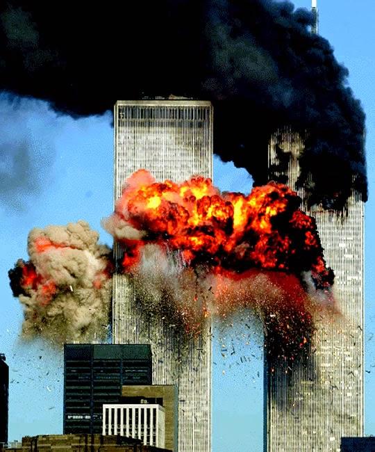 Peledakan Menara Kembar WTC 11 September 2001