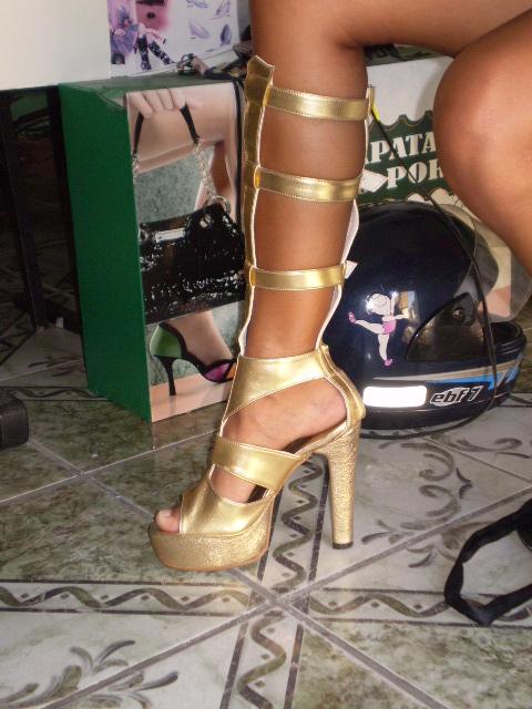sandalias para carnaval-Maria