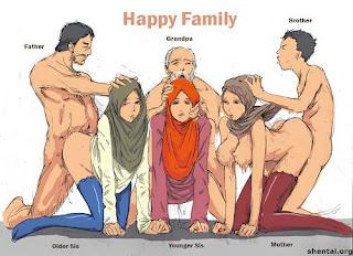 Kartun Bertudung melayu bogel.com