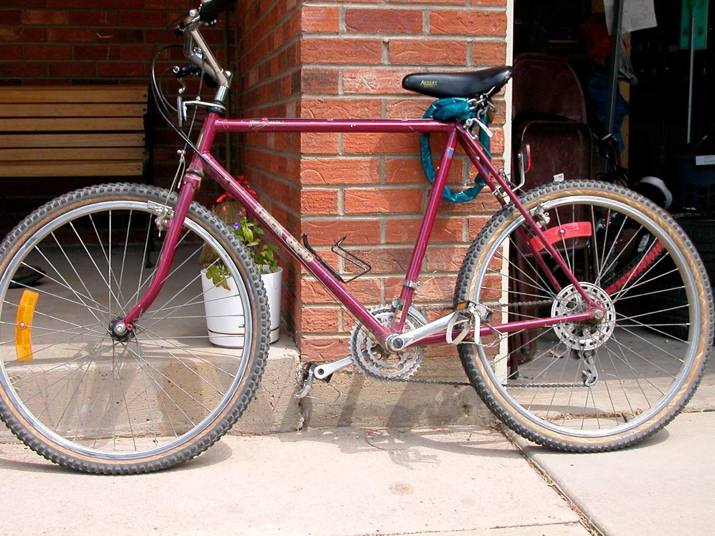 Observations About Longmont Colorado 1984 Trek 830 All Terrain