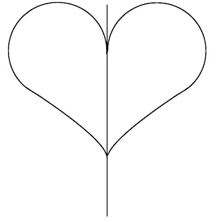 How To Draw A Heart Step 4