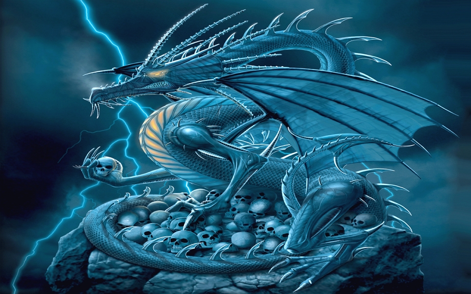 the power is on wizard et son dragon