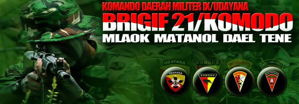 Brigade Infanteri 21/Komodo