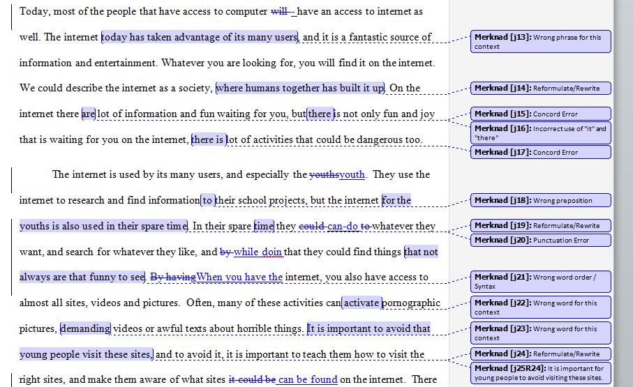 Oppbygging av essay