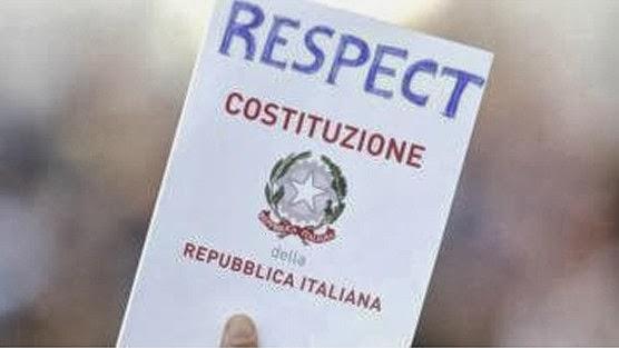 Rispetto per la Costituzione Italiana