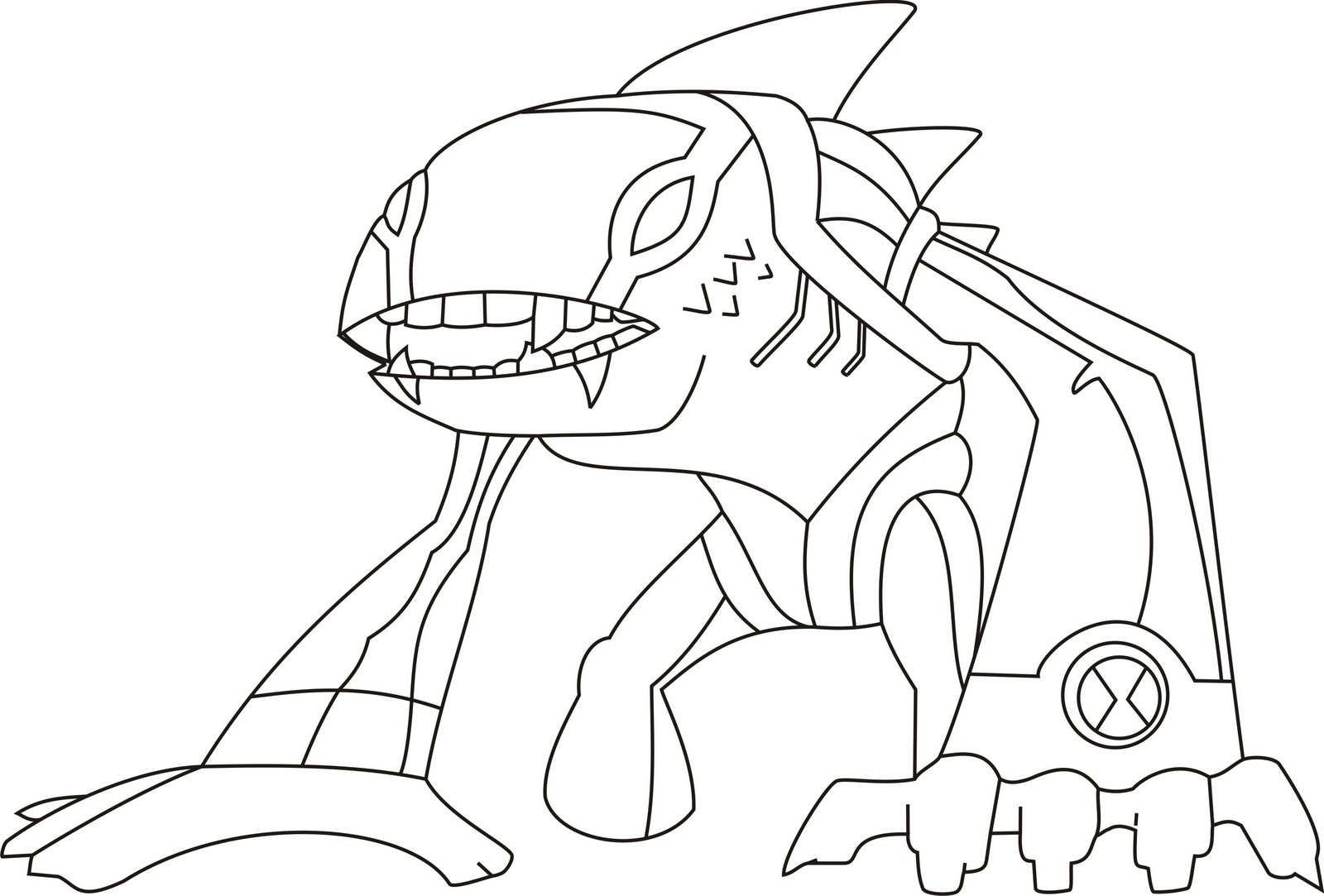 Ben 10 coloring pages superhero coloring pages get ben 10 coloring pages and make this wallpaper for your desktop tablet or smartphone device for best results you can choose original size to be voltagebd Gallery
