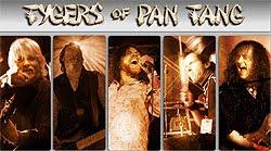 Conciertos de Tygers Of Pan Tang en Barcelona, Cádiz y Jaen en julio