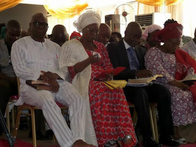 ayo fayose birthday with wife