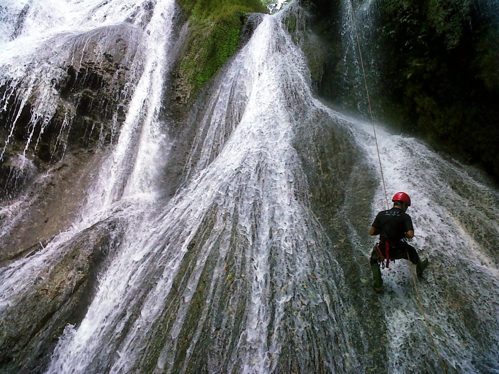 shower climbing sukabumi