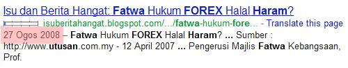 Perniagaan Forex Haram