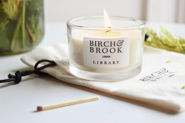 Birch & Brook London Library Candle