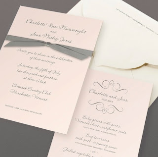 Textures And Tonal Layering Created This Sophisticated Ecru +White Layered  Invitation, Inspired By Current Trends In Wedding Dresses.