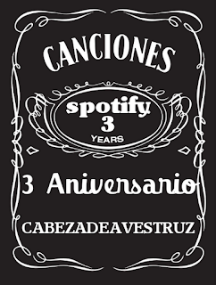 Lista Spotify Tercer Aniversario