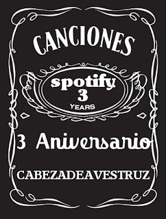 Lista Spotify Tercer Aniversario
