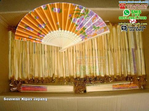 Souvenir Kipas Jepang Bambukain Lampung