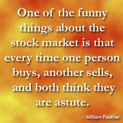 funny things about the stock market