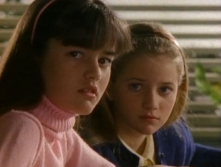 Danica McKellar and Sister - The Wonder Years