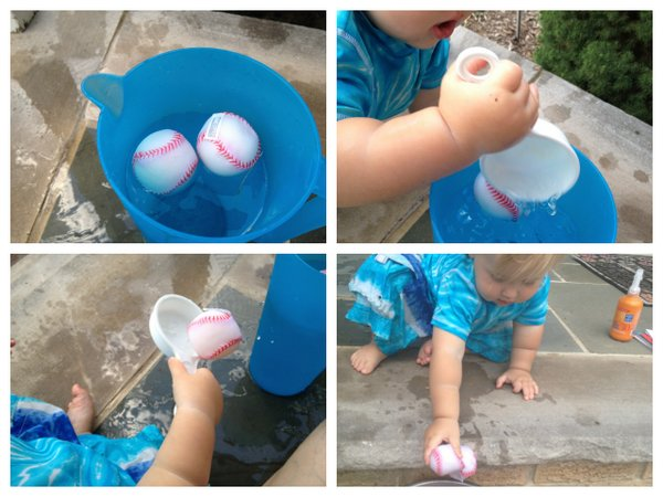 baby games with water