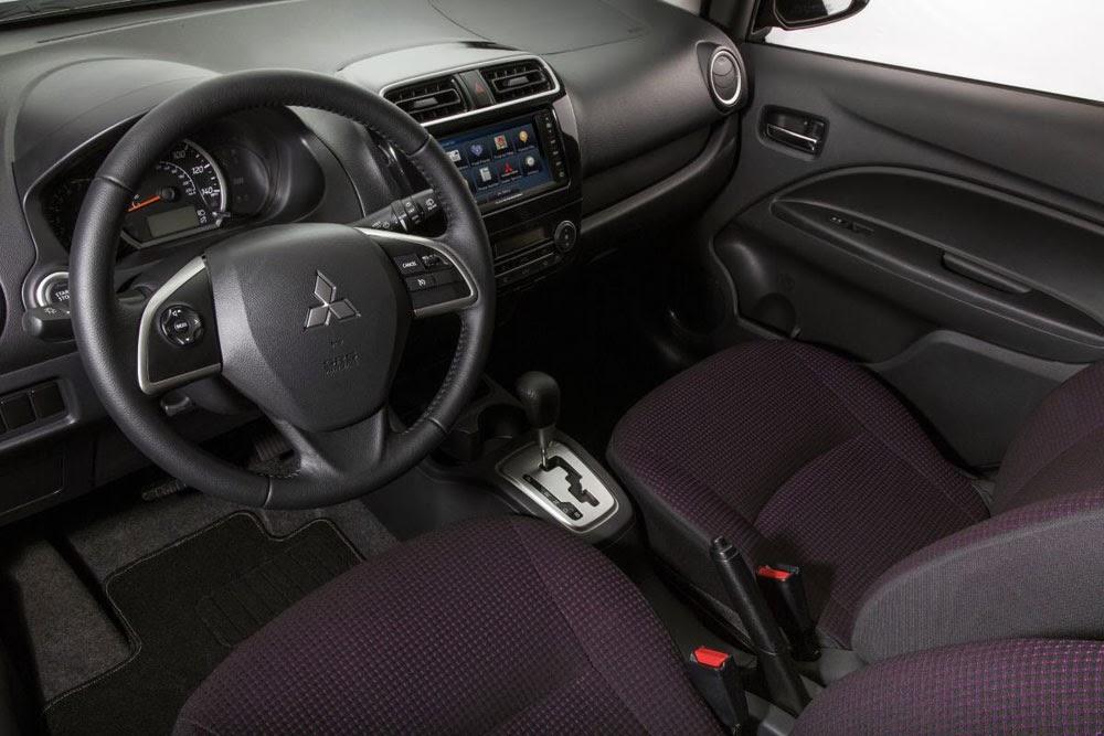 Mitsubishi Mirage ES interior